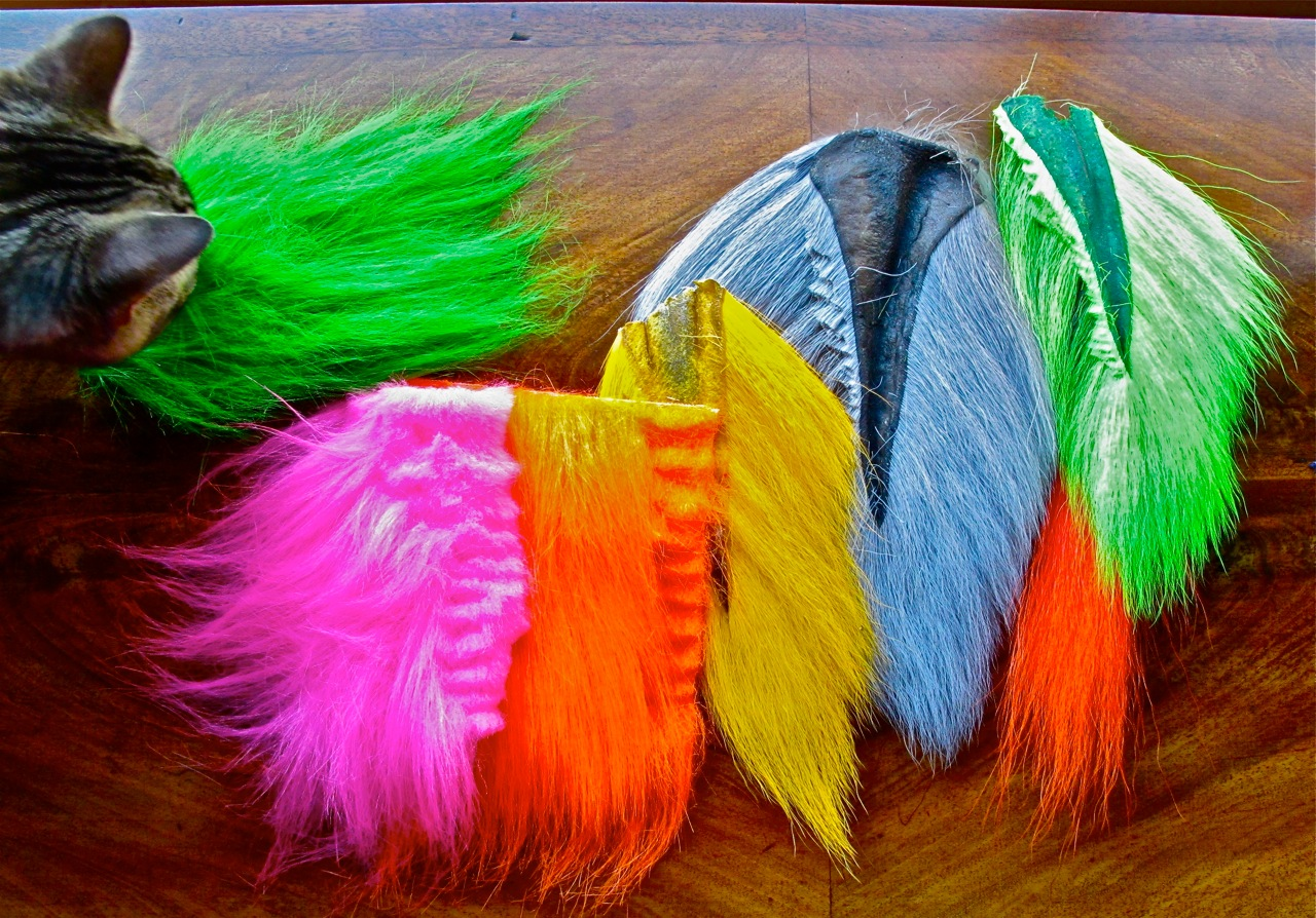 craft fur versus bucktail a fly tyer s guide the caddis