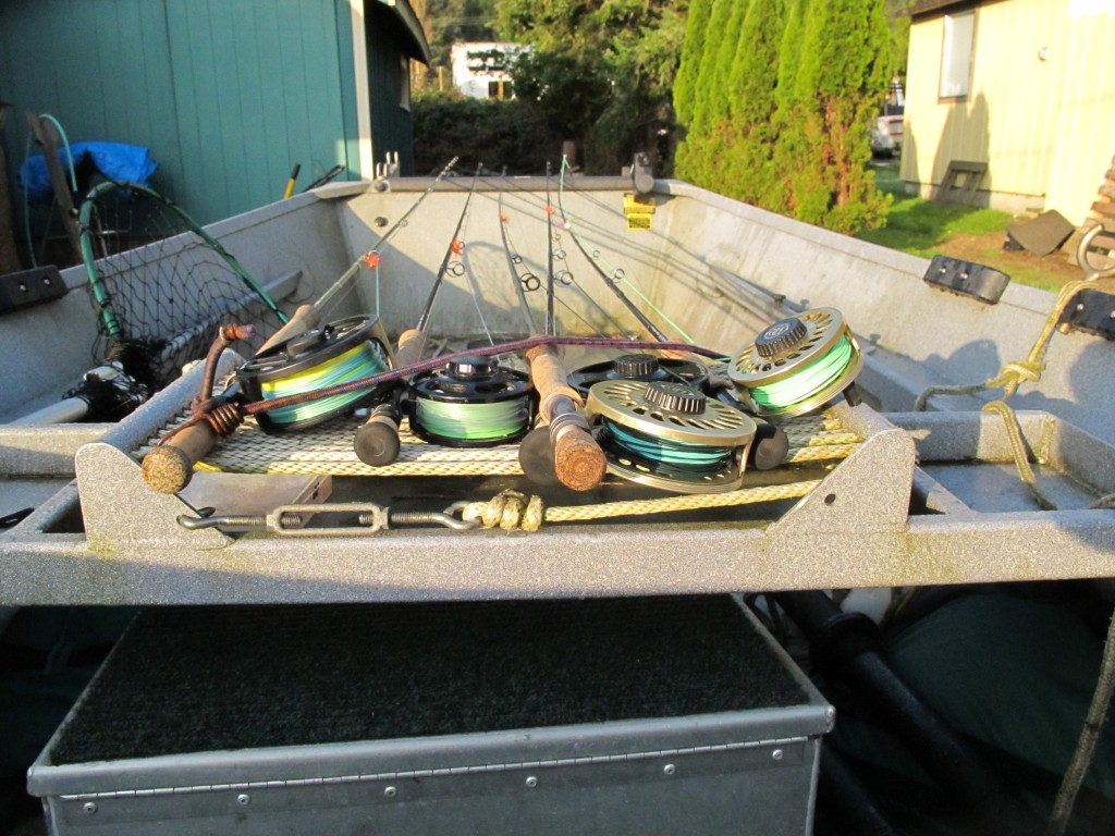 Fly fishing tackle for oregon salmon the a list the for Fly fishing equipment