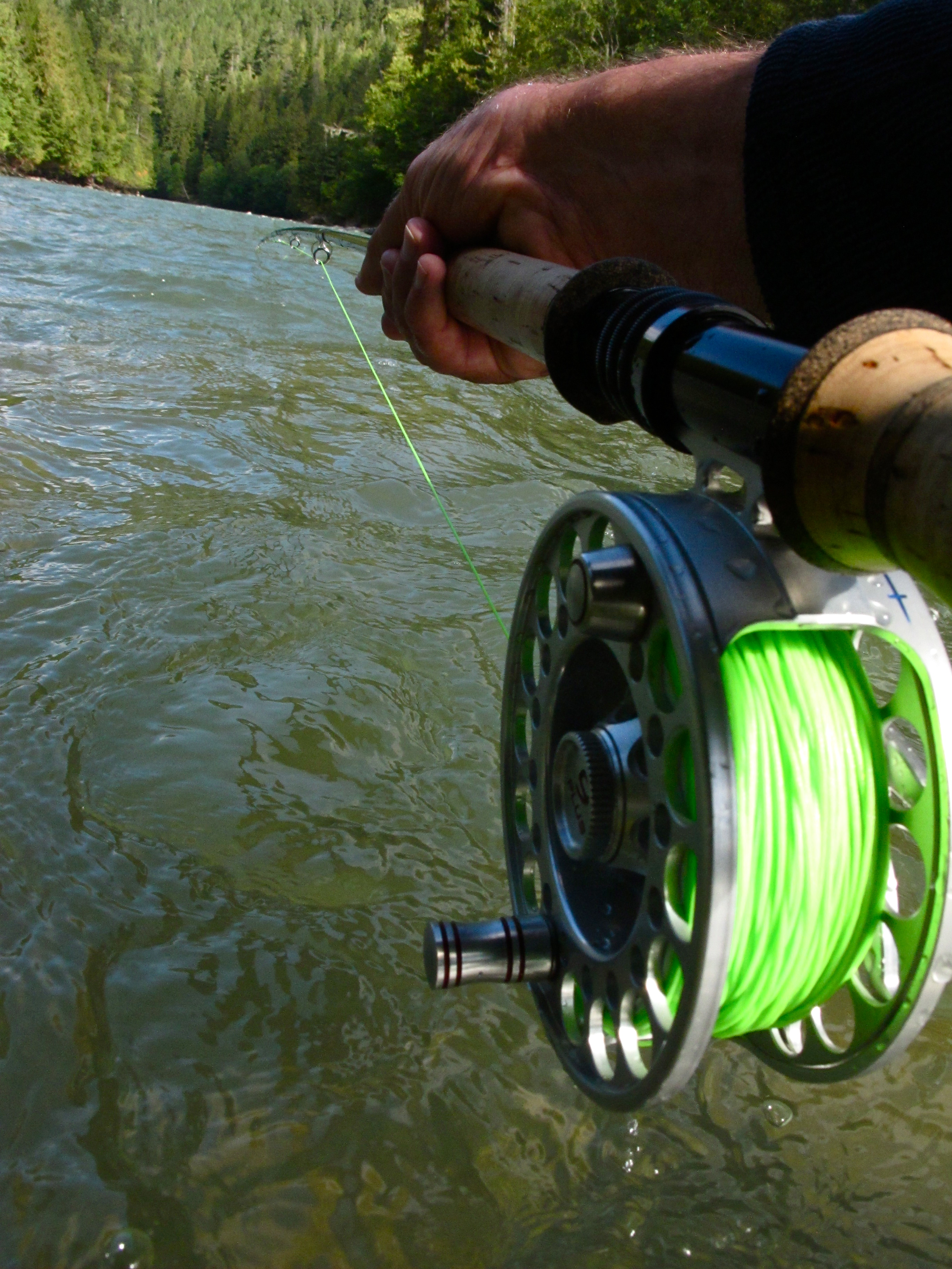 Fly fishing tackle for oregon salmon the a list the for Salmon fishing reels