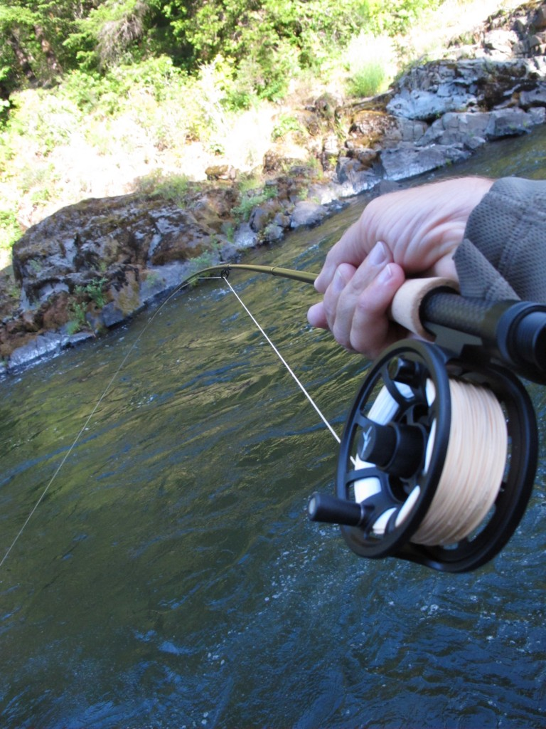 Product reviews most excellent echo fly rods the caddis for Fly fishing reel reviews