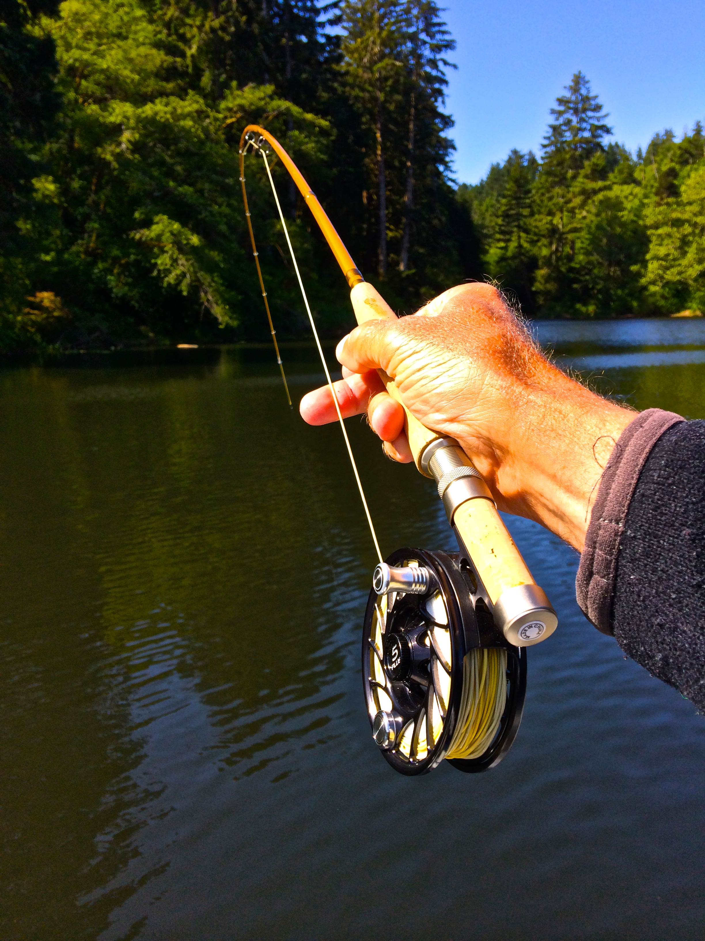 Echo glass fly rod review the caddis fly oregon fly for Fly fishing blogs
