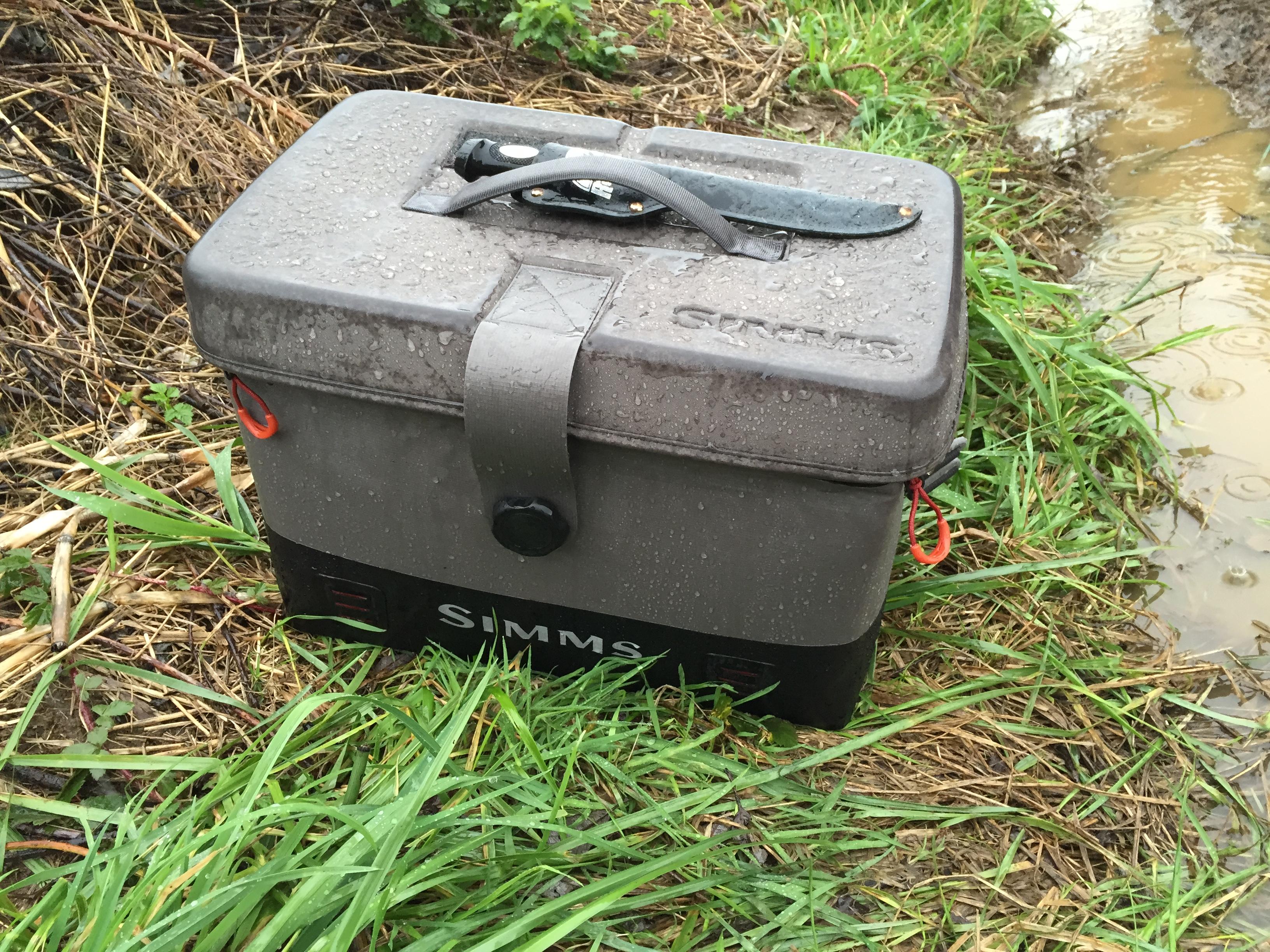 My New Simms Dry Creek Boat Bag