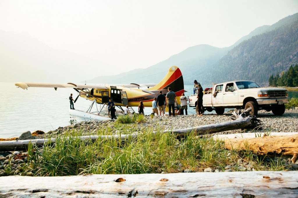 Here is how you arrive from Smithers, BC, to Kimsquit Bay Lodge.