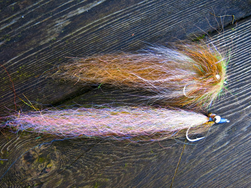 Jay Nicholas comparison of 5 inch octopus fly versus 7 inch Clouser.