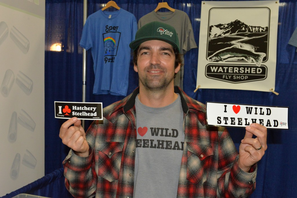 Jeff Hickman Loves Wild Steelhead.