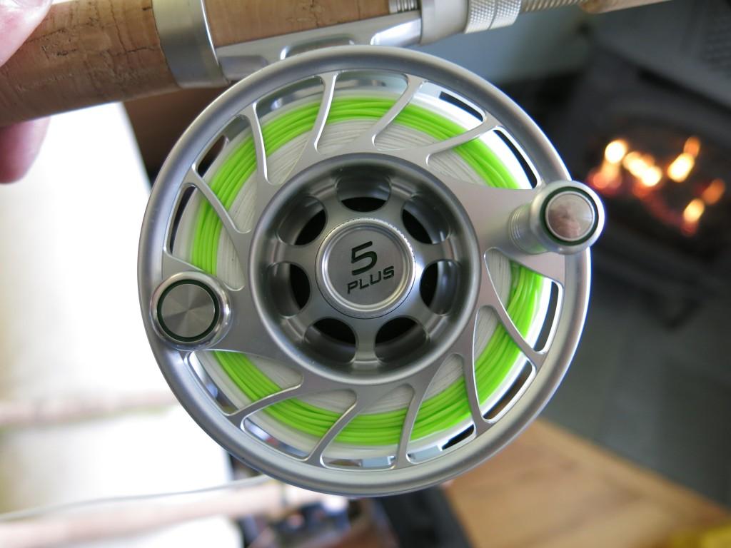 Hatch 5 Plus Fly Reel.