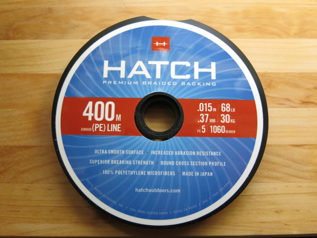 Hatch Premium Backing.