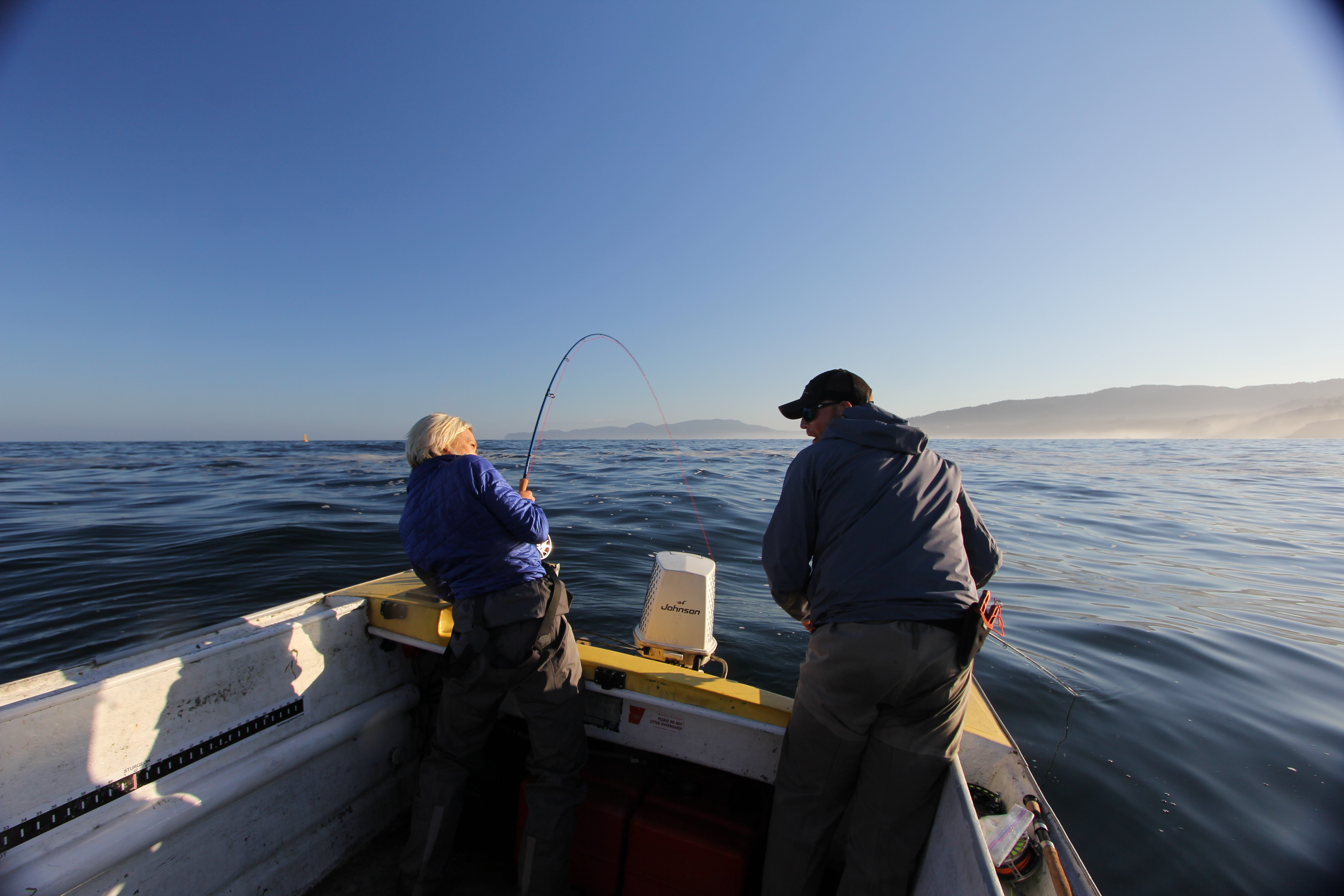 Saltwater fly fishing class feb 6th at shop the caddis for Ocean fishing oregon