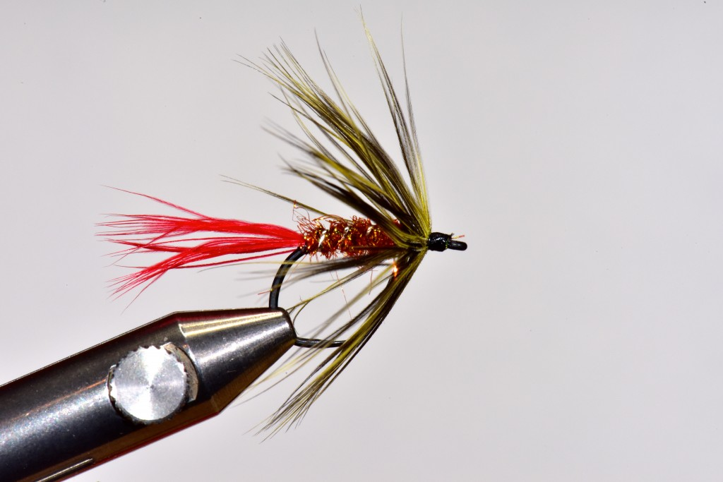 Day 3 Sea-run cutthroat fly by Jay Nicholas.