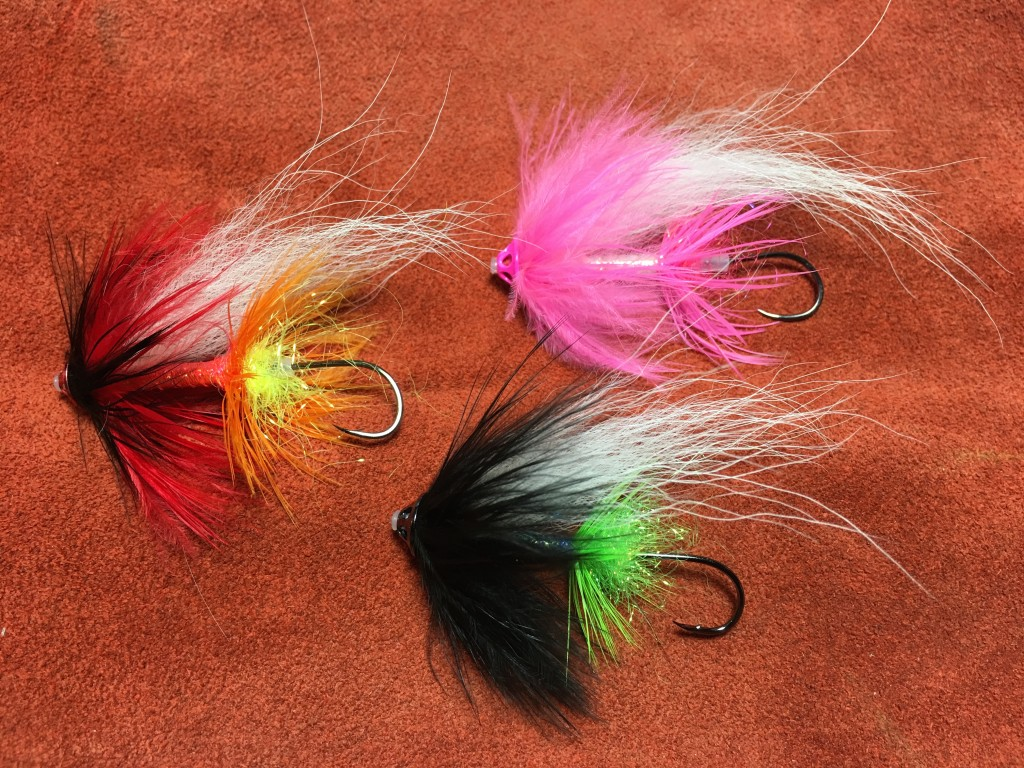 Here are three traditional winter steelhead patterns that I tied on tubes - examples of the flies I will  be tying at the shop on December 10th.