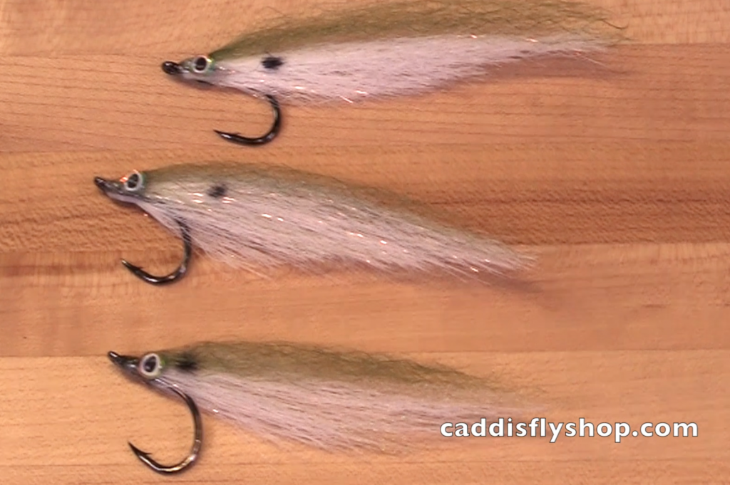 Here are three of Guy Allen's Sardina flies.
