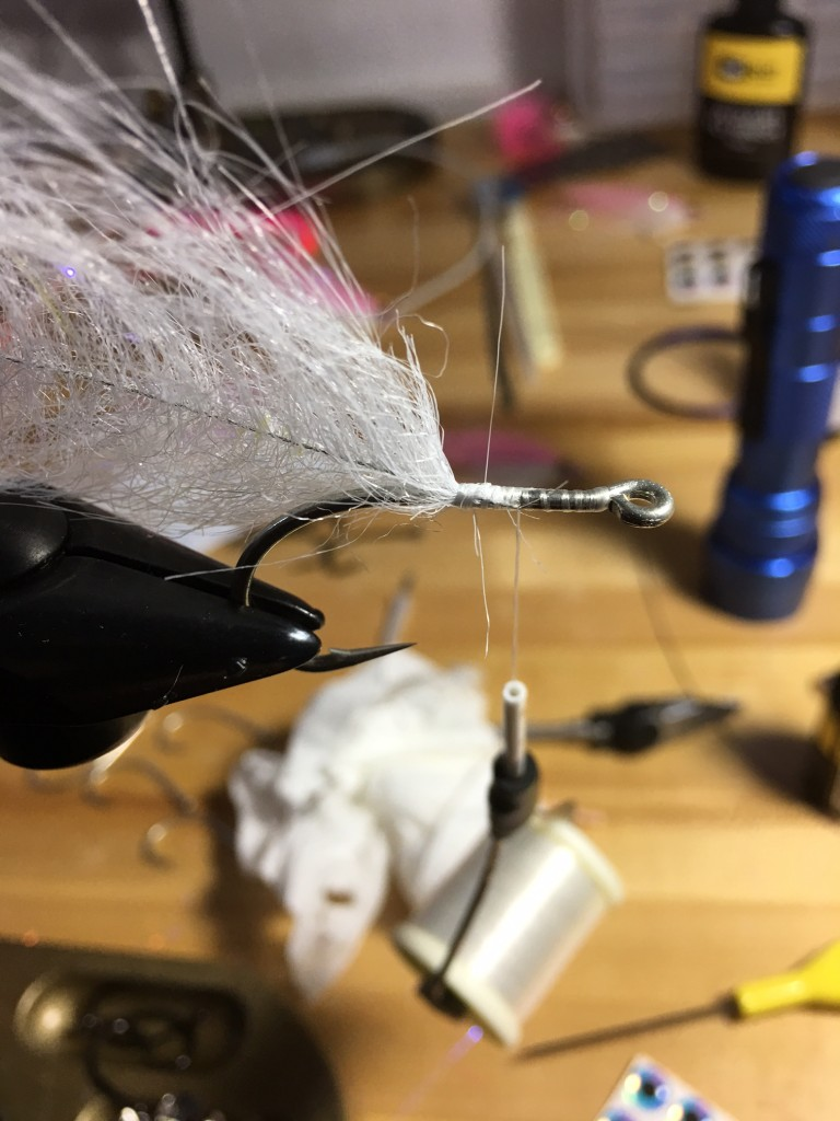 Step 2 creating baitfish belly with EP Brush.