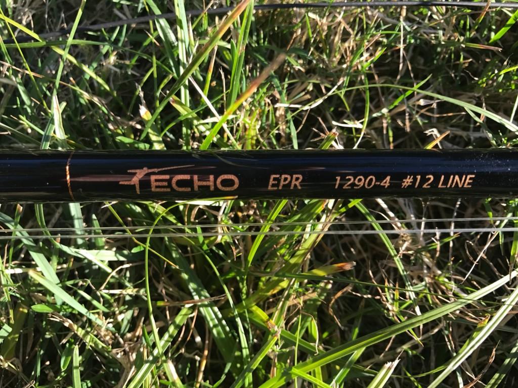 12wt ECHO EPR fly rod.