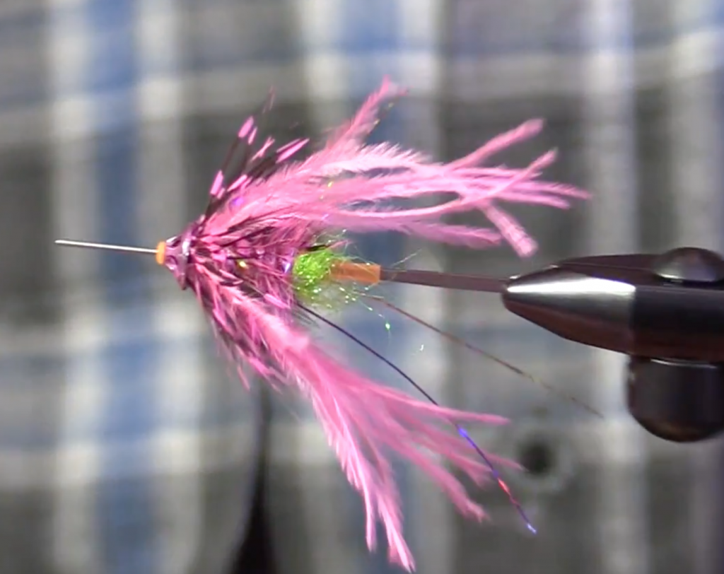 Nicholas' Mini Fish Taco Tube Steelhead Fly