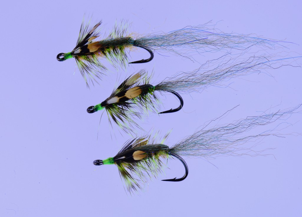 Nicholas Shrimp Flies tied on Ahrex NS150 Nordic Salt Curved Shrimp Hooks.