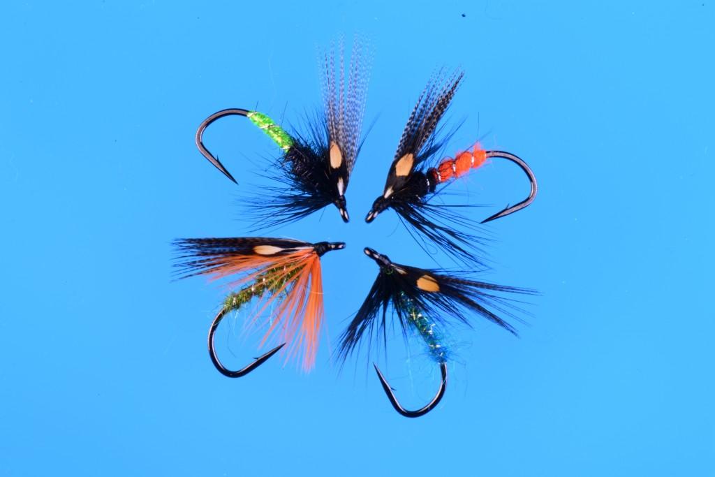 Jay Nicholas Summer Steelhead flies tied on Ahrex NS115 hooks