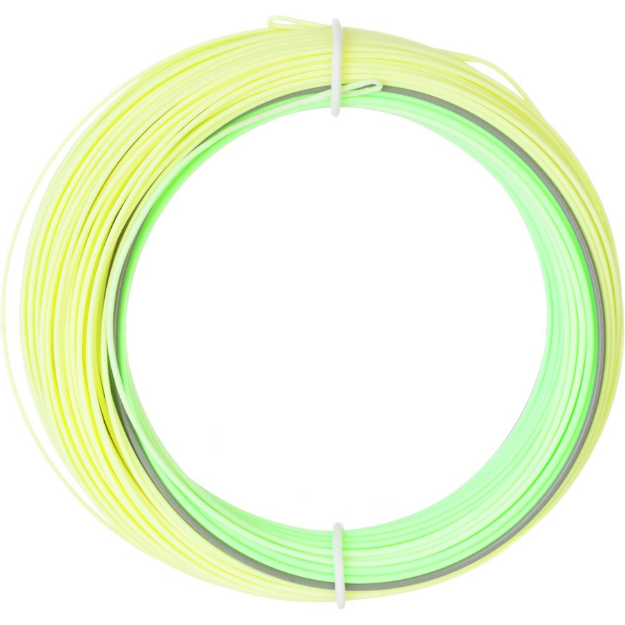 This is a fly line that is objectively bright yellow and green, buit oddly i do like these colors.
