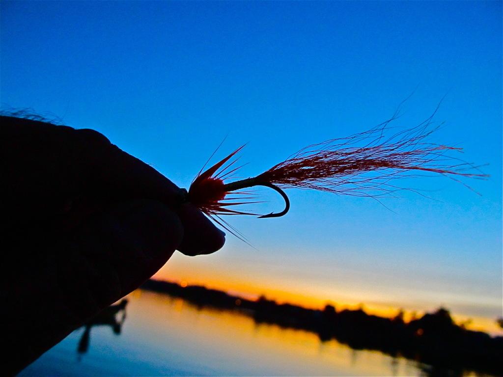 Jay Nicholas tying your own flies e