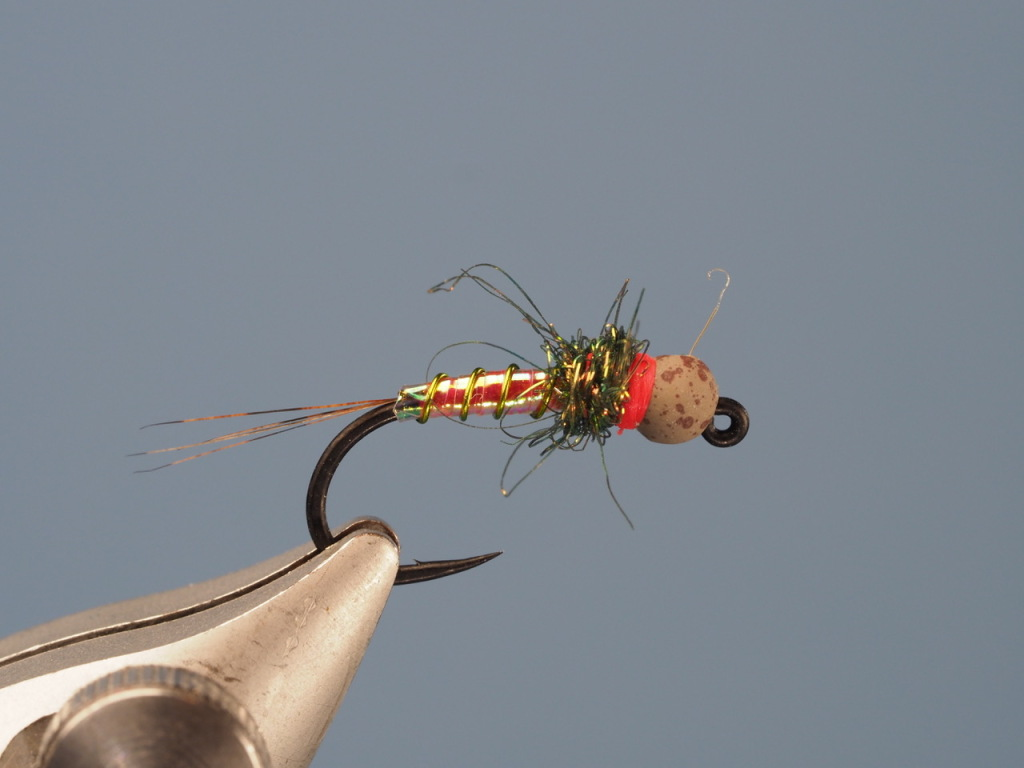 Done. Ready to catch big trout> PINCH THE BARB PLEASE. IT IS EASY WITH THESE GAMMIE MICRO BARBS. THANK YOU. GAMMIE MAKES A BARBLESS HOOK EXACTLY LIKE THIS TOO.